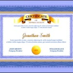 Sample Graduation Certificate Template