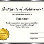 Sample Graduation Certificate Template Powerpoint