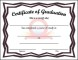 Sample Kids Graduation Certificate Template