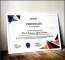 Sample Swimming Certificate