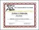 Scholarship Certificate Award Certificate Template