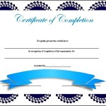 Simple Certificate of Completion Template