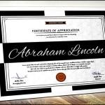 Simple Multipurpose Training Certificate