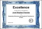 Sports Excellence Award Certificate Template in Word