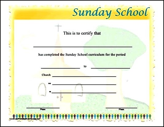 Sunday school attendance certificatesg sunday school attendance certificates printable certificate of school attendance template choice image yadclub Gallery