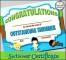 Swimming Certificate Printable