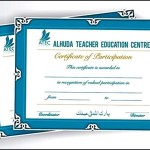 Teacher Training Certificate Template