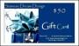 USD Siamese Dream Design Gift Card Certificate