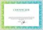 Vector Diploma Certificate Stock