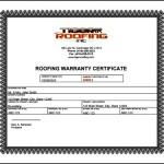 Warranty Certificate Template Free