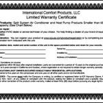 Warranty Certificate Template Word