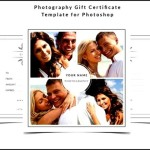 Wedding Photography Gift Certificate