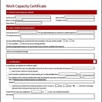 Work Certificate Sample
