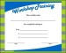 Workshop Training Certificate Template