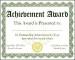 chool Award Certificate Template