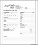 Bakery Order Form Template Word