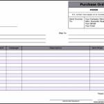 Basic Purchase Order Form