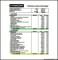 Construction Budget Spreadsheet Sample