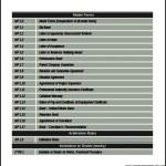 Construction Procurement Reform Budget Development Word Format