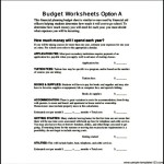 Free Financial Planning Budget Sheet PDF Download