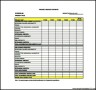 Free Project Budget Example PDF