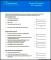 Graduate Budget Template in PDF Format