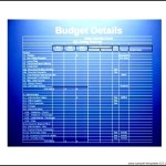 Monthly Church Budget Template PDF Format