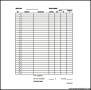 Monthly Expences Budget Template PDF Download