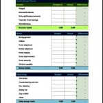 Personal Monthly Budget Template Free Download