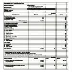 Printable Project Budget PDF