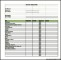 Project Budget Template for Manufacturing Excel Format Example