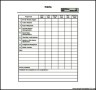 Project Budget Tracker Template PDF File