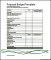 Sales and Marketing Budget Template PDF