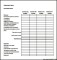 Sample Annual Personal Budget Template Excel Format Download