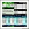Sample Budget Planner Excel Template