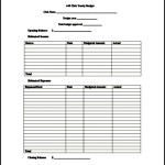 Sample Club Yearly Budget Template PDF File Download