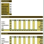 Sample Family Budget Template Free Download