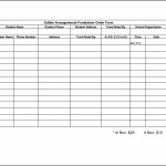 Sample Fundraiser Order Form Template