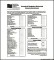 Sample Household Budget Tracker Template PDF Download