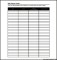 Sample Personal Budget Tracking Template PDF
