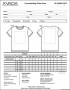 Sample T-Shirt Order Form Template Microsoft Word