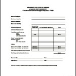 Sample Vacation Planning Budget Template PDF