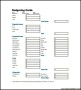 Sample Weekly Budget Planner Template PDF Format