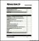 Simple Budget Worksheet PDF Example