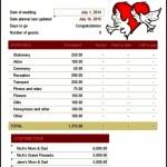 Wedding Budget Planner Free Excel Download
