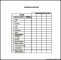 Weekly Family Budget Template Example