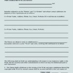 Author Collaboration Agreement Template