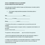 Auto Dealer Consignment Agreement Template Word Document