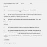 Business Confidentiality Agreement Word Format