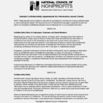 Business Generic Confidentiality Agreement Template